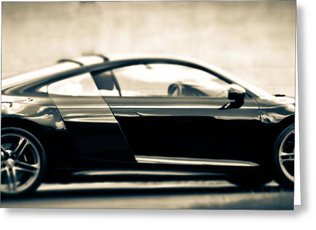 R8 Dreams In Black And White Greeting Card