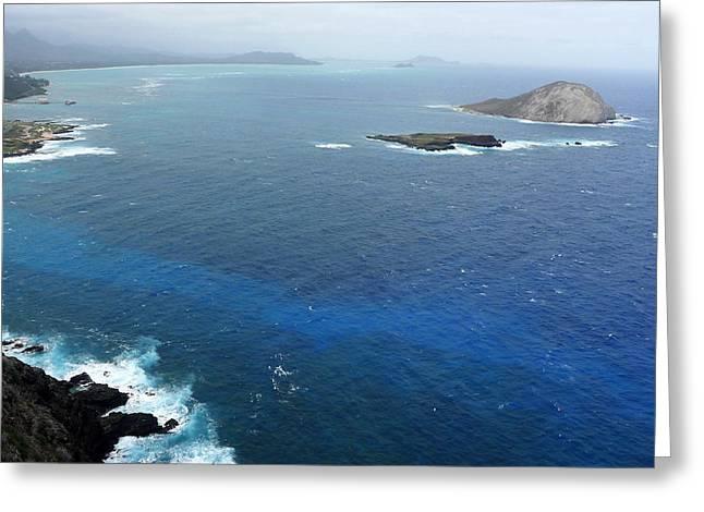 Greeting Card featuring the photograph Rabbit Island Hawaii by Mukta Gupta