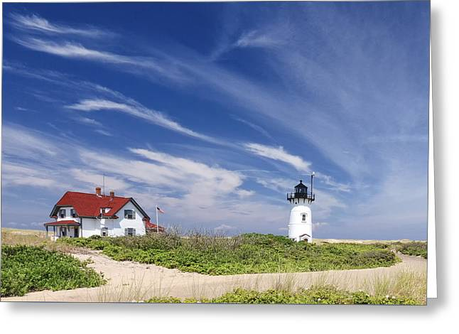 Race Point Light Greeting Card