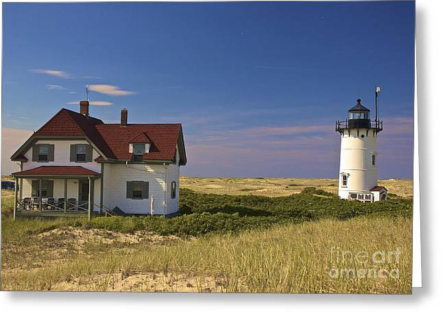 Race Point Lighthouse In Summer Greeting Card