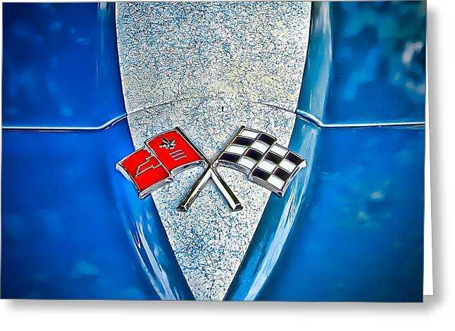 Race To Win Greeting Card by Colleen Kammerer