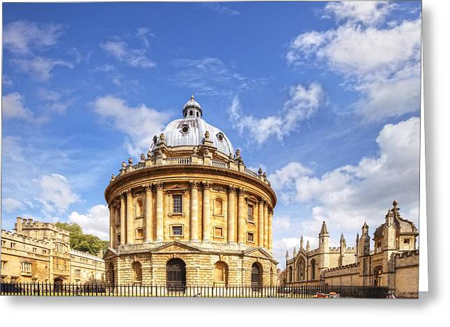 Radcliffe Camera Greeting Card by Colin and Linda McKie