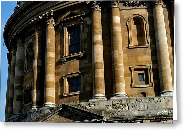 Radcliffe Camera Greeting Card by Joseph Yarbrough