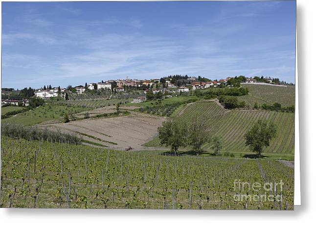 Radda In Chianti Greeting Card
