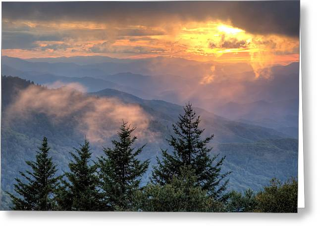 Radiance Greeting Card by Doug McPherson