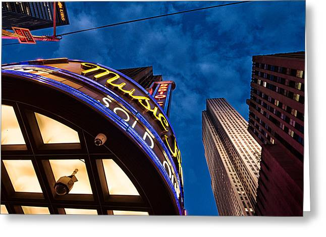 Greeting Card featuring the photograph Radio City And 30 Rock by James Howe