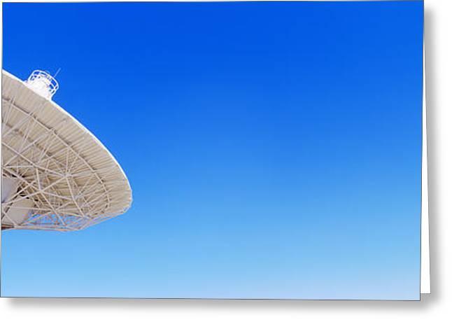 Radio Telescope Satellite Dishes Greeting Card