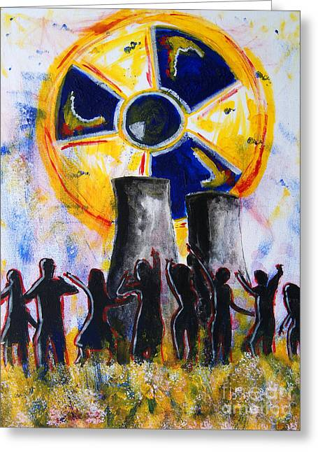 Radioactive - New Generation Greeting Card