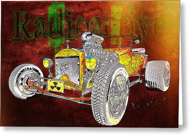 Radioactive Rod Greeting Card