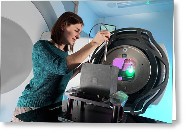 Radiotherapy Calibration Greeting Card by Andrew Brookes, National Physical Laboratory