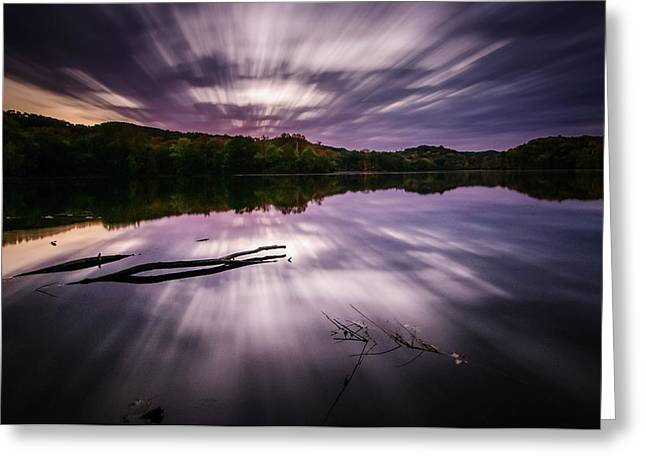 Radnor Sunrise Greeting Card by Brett Engle