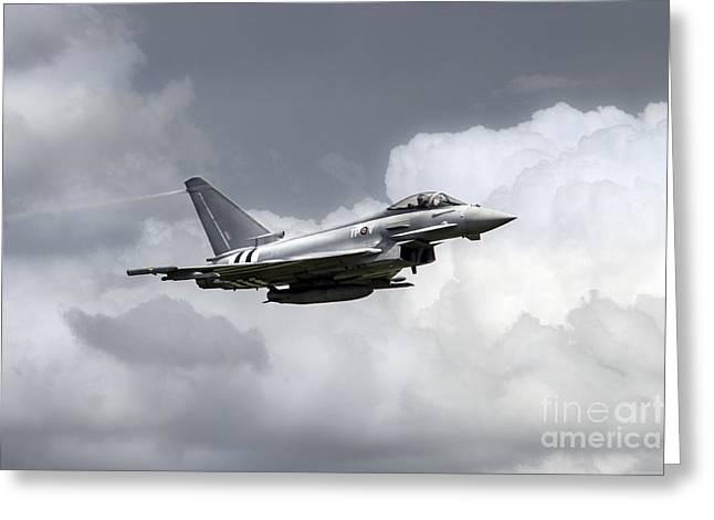 Raf Typhoon  Greeting Card by J Biggadike