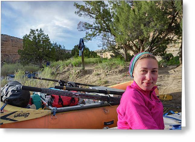 Rafting The Yampa Greeting Card