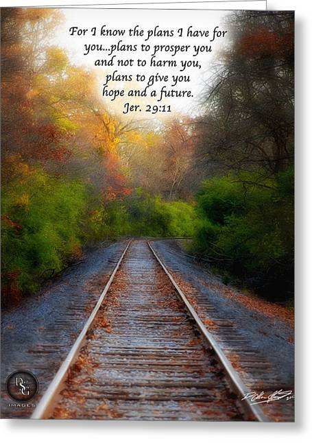 Rail Of Hope Greeting Card