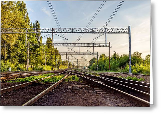 Railway To Nowhere Greeting Card by Tgchan