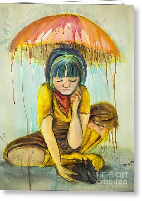 Rain Day  Greeting Card