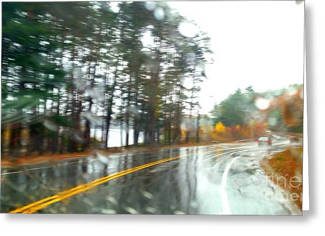 Rain Day Greeting Card