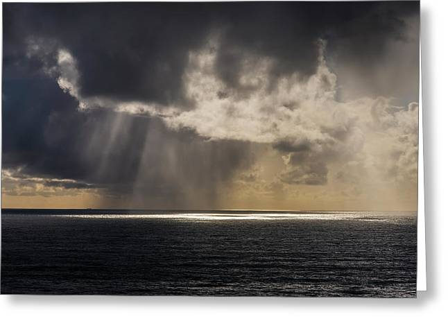Rain Falls In The Distance Greeting Card
