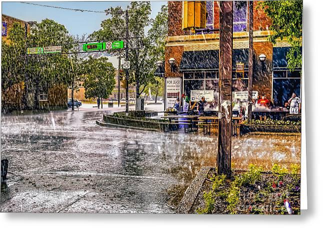 Rainy Day. Greeting Card
