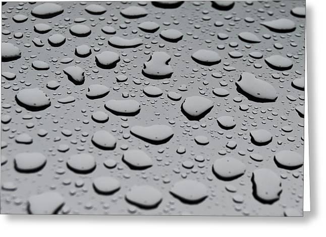 Rain On Sunroof Greeting Card