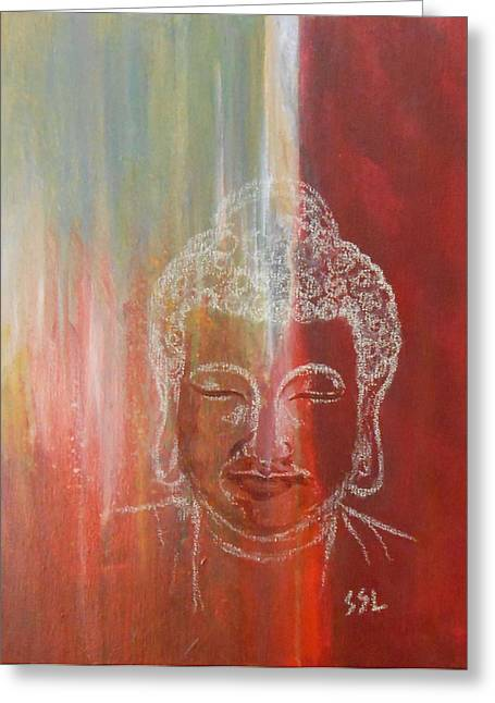 Rainbow Body - Buddha Greeting Card