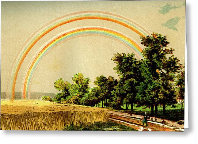 Rainbow Greeting Card by Collection Abecasis