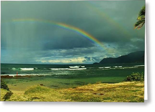 Rainbow Greeting Card by Craig Wood