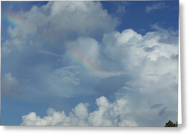 Greeting Card featuring the photograph Rainbow by Michele Kaiser
