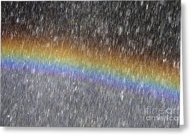 Rainbow Greeting Card by Patricia Hofmeester