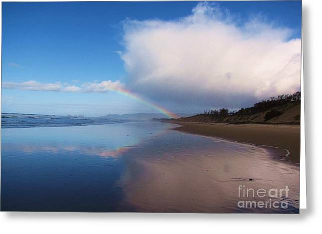 Rainbow Reflection Greeting Card