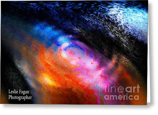Rainbow Ripple Greeting Card by Jeffery Fagan