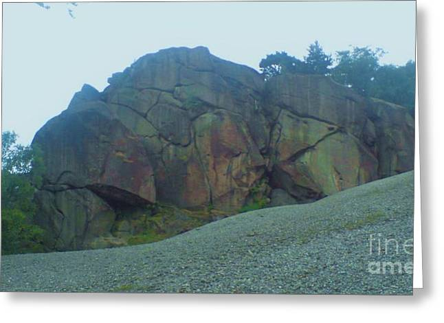 Greeting Card featuring the photograph Rainbow Rock by John Williams