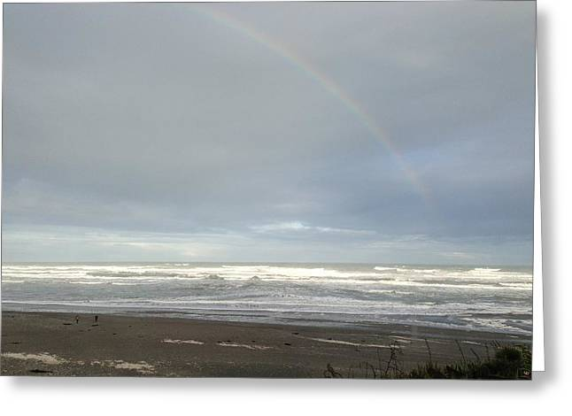 Rainbow Greeting Card by Ron Torborg