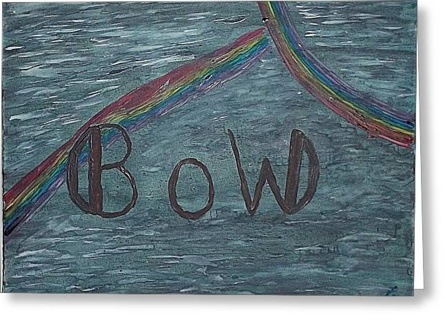 Rainbow Set-part2 Greeting Card by Nannette Kelly