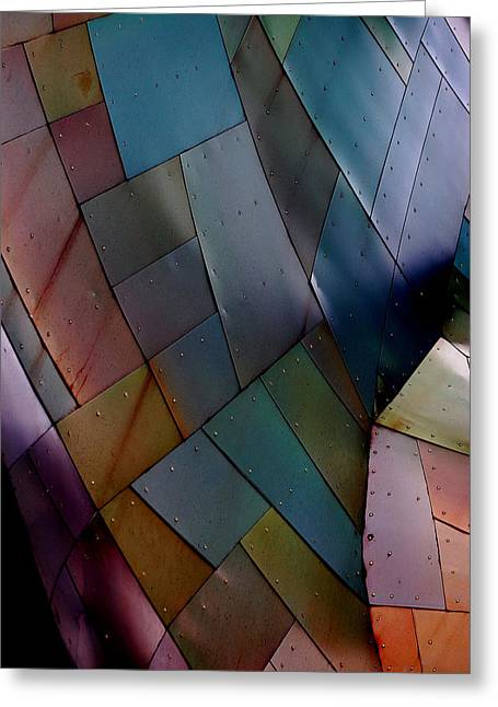 Rainbow Shingles Greeting Card