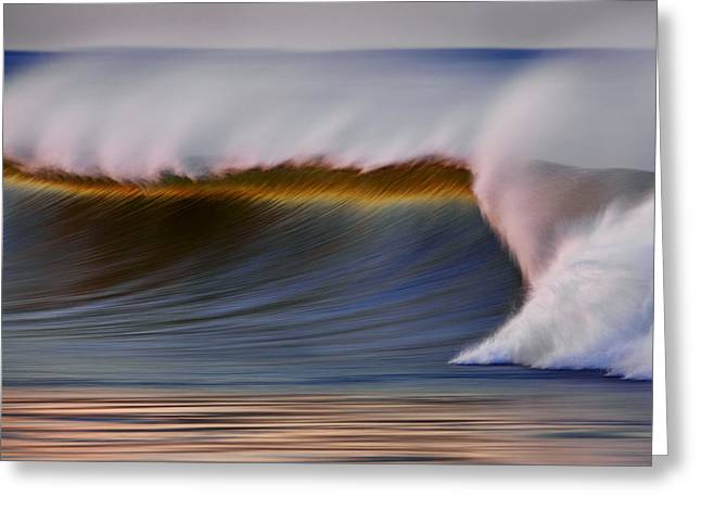 Greeting Card featuring the photograph Rainbow Wave  C6j2648 by David Orias