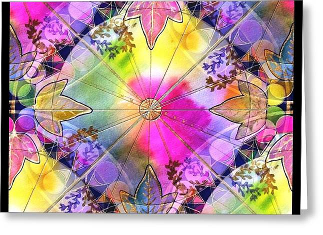 Rainbows Greeting Card by Melodye Whitaker