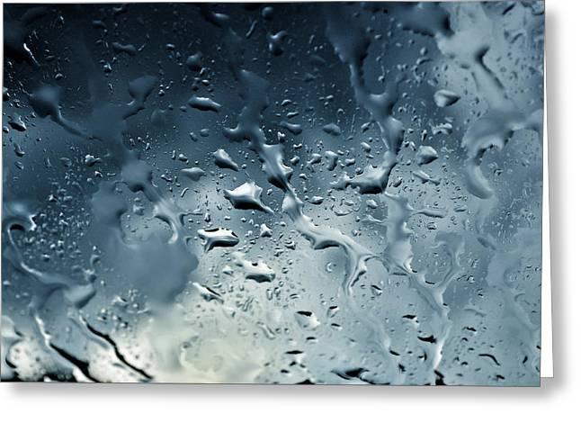 Raindrops Greeting Card by Fabrizio Troiani