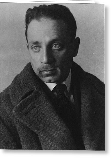Rainer Maria Rilke Greeting Card