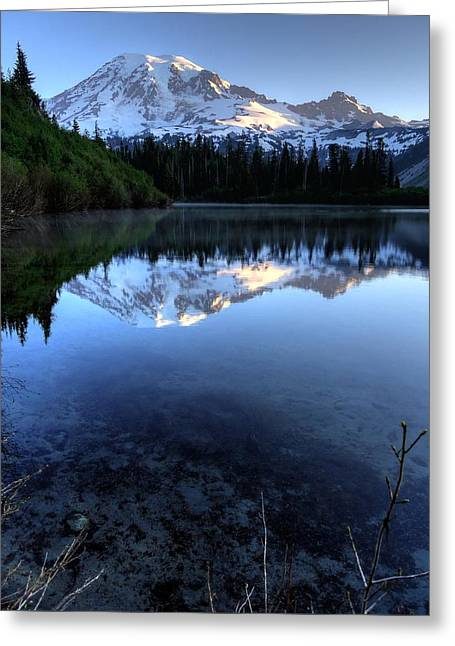 Rainier Redefined Greeting Card