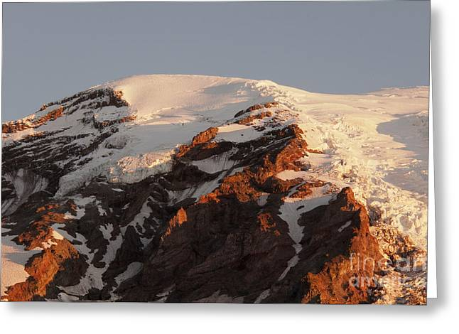 Rainier Summit Greeting Card