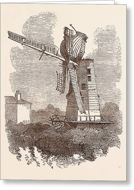 Rainsford Mill, Colchester Greeting Card by English School