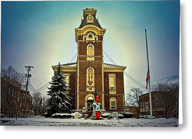 Raintree County Courthouse Greeting Card by Mark Orr