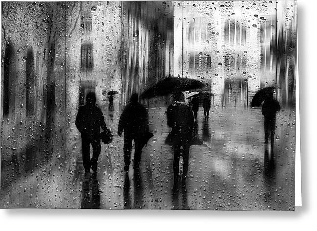 Rainy Days Greeting Card