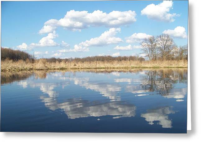 Raisen River1 Greeting Card by Jennifer  King