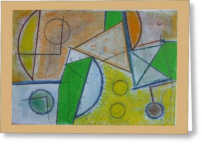 Raku.5. Let It Be.06 Greeting Card by Peter-hugo Mcclure