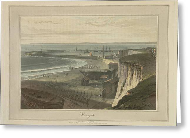 Ramsgate Greeting Card by British Library