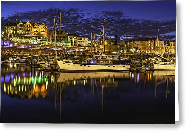 Ramsgate Marina Greeting Card