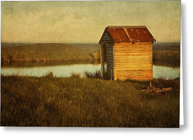 Ramshackle Greeting Card by Amy Weiss