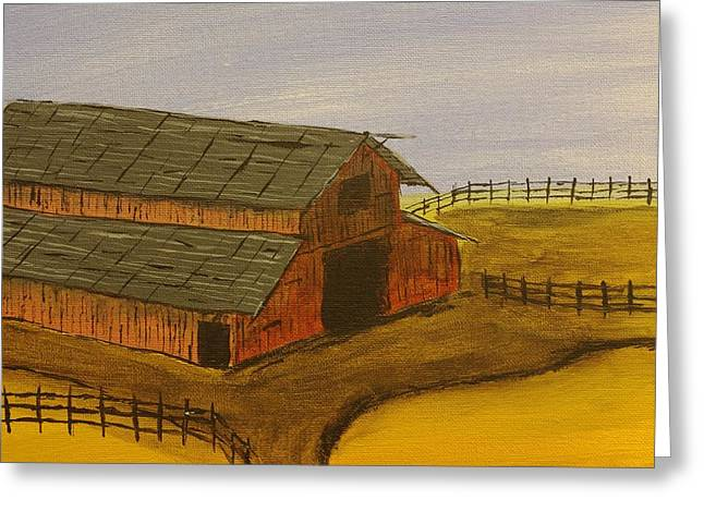 Ranch Greeting Card by Keith Nichols